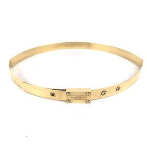 ✨ Louis Vuitton Gold Metal Belt ✨